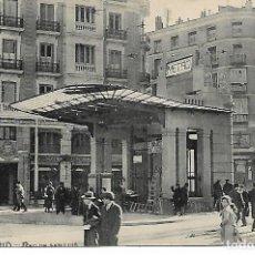 Postales: TARJETA POSTAL ANTIGUA DE MADRID RED DE SAN LUIS - GRAFOS -. Lote 151411978