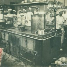 Postales: MADRID. COCINA DE UN GRAN RESTAURANTE. CIRCULADA EN 1907. Lote 151434026
