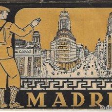 Postales: MADRID - LIBRITO BLOC DE 14 POSTALES - HELIOGRÁFICA ESPAÑOLA 2ª SERIE. Lote 151506478