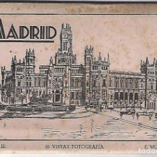 Postales: MADRID - LIBRITO BLOC DE 10 POSTALES - MOLINA 1ª SERIE. Lote 151506954