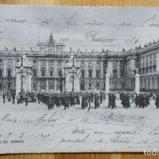 Postales: MADRID PLAZA DE ARMAS Nº 371 UNION POSTAL UNIVERSAL 1907. Lote 151661442