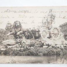 Postales: BONITA POSTAL MADRID (FUENTE CIBELES) AÑO 1916. CIRCULADA.. Lote 151850250
