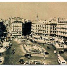 Postales: TARJETA POSTAL FOTOGRAFICA - MADRID / PUERTA DEL SOL. Lote 151871414