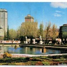Postales: TARJETA POSTAL - MADRID / JARDINES DE SABATINI. Lote 151872526