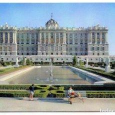 Postales: TARJETA POSTAL - MADRID / FACHADA NORTE DEL PALACIO REAL. Lote 151873050