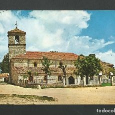 Postales: POSTAL SIN CIRCULAR - MORALZARZAL 3 - IGLESIA PARROQUIAL - MADRID - EDITA VISTABELLA. Lote 151878866