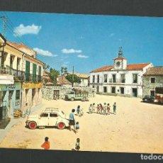 Postales: POSTAL SIN CIRCULAR - MORALZARZAL 2 - PLAZA MAYOR Y AYUNTAMIENTO - MADRID - EDITA VISTABELLA. Lote 151879030