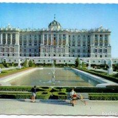 Postales: TARJETA POSTAL - MADRID / FACHADA NORTE DEL PALACIO REAL. Lote 151879658