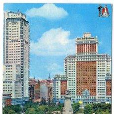 Postales: TARJETA POSTAL - MADRID / PLAZA DE ESPAÑA. Lote 151880650