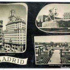 Postales: TARJETA POSTAL - MADRID / DIFERENTES VISTAS. Lote 151881046