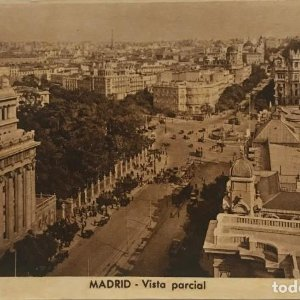 Madrid. Vista parcial