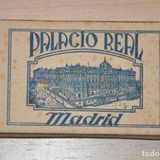 Postales: ACORDEON DE 24 MINI POSTALES DEL PALACIO REAL DE MADRID. Lote 152190978