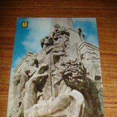 Postales: (ALB-TC-33) POSTA VALLE DE LOS CAIDOS VER FOTO PARTE TRASERA. Lote 152296610