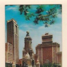 Postales: POSTAL PLAZA ESPAÑA. MADRID - TRIDIMENSIONAL. EFECTO 3D. Lote 152489070