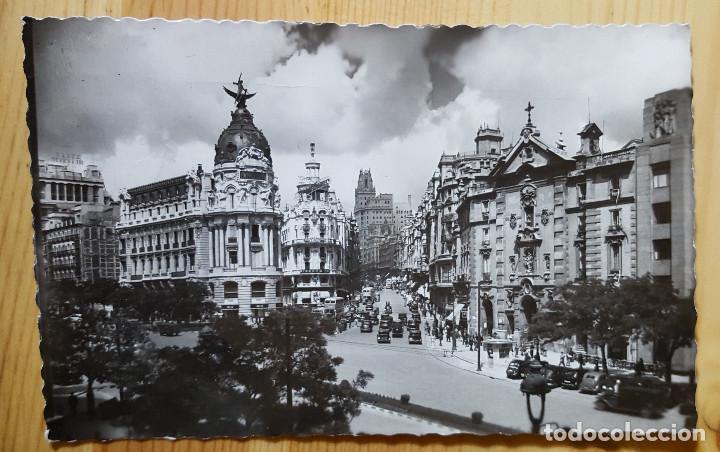 MADRID CALLE DE ALCALA Y AVENIDA DE JOSE ANTONIO Nº 1 ED. GARCIA GARRABELLA (Postales - España - Madrid Moderna (desde 1940))