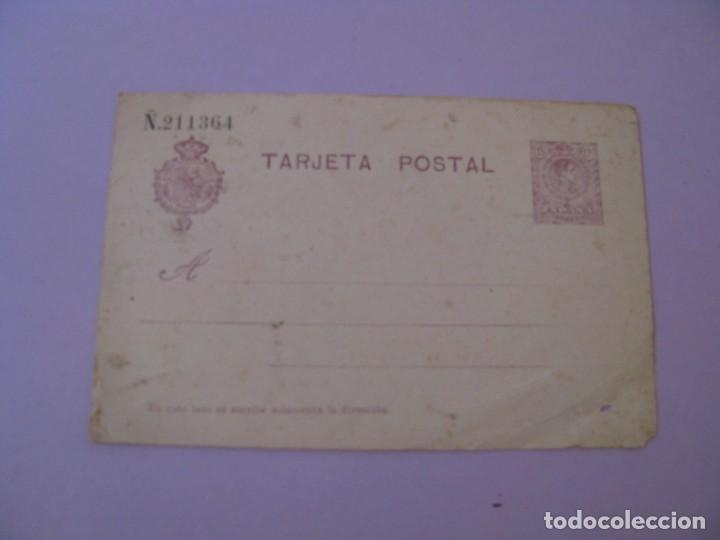 ANTIGUA TARJETA POSTAL PREFRANQUEADA. AÑOS 1910 - 1920. (Postales - España - Comunidad de Madrid Antigua (hasta 1939))