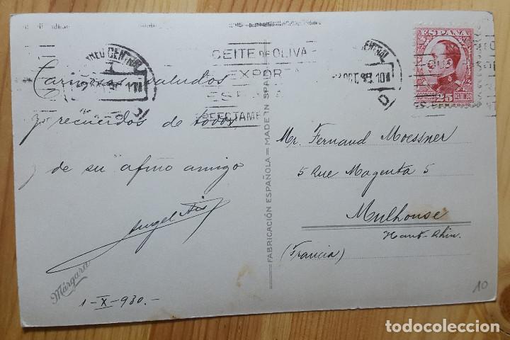 Postales: Madrid Palacio real desde el campo del Moro Ed. Margara 1930 - Foto 2 - 153565030