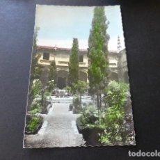 Postales: ALCALA DE HENARES MADRID UNIVERSIDAD PATIO TRILINGÜE DETALLE. Lote 153652146