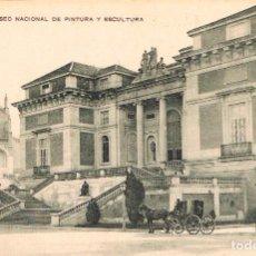Postales: MADRID, MUSEO NACIONAL DE PINTURA Y ESCULTURA, EDITADA POR LA FRANCO-ESPAÑOLA. Lote 153706638