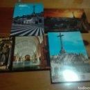 Postales: LOTE 4 TARJETAS POSTALES VALLE DE LOS CAIDOS. Lote 154445088