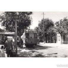 Postales: MADRID.- TRANVÍA. 1955. CARRETERA DE FUENLABRADA. FOTOGRAFÍA TAMAÑO POSTAL. Lote 154558890