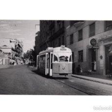 Postales: MADRID.- TRANVÍA. 1955. MONCLOA. FOTOGRAFÍA TAMAÑO POSTAL. Lote 154559534