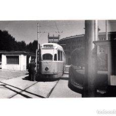 Postales: MADRID.- TRANVÍA. 1955. VENTAS. FOTOGRAFÍA TAMAÑO POSTAL. Lote 154560294