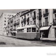 Postales: MADRID.- TRANVÍA. 1955. DELICIAS. FOTOGRAFÍA TAMAÑO POSTAL. Lote 154560418