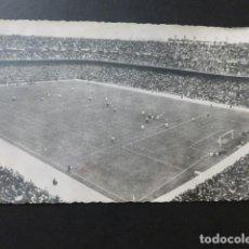 Postales: MADRID ESTADIO DE CHAMARTIN FUTBOL. Lote 154984466