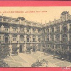 Postales: ALCALA DE HENARES-826.UNIVERSIDAD-PATIO CENTRAL-JOYAS DE ESPAÑA, SIN CIRCULAR,VER FOTOS. Lote 155000122