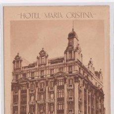 Postales: POSTAL HOTEL MARÍA CRISTINA. - MADRID - (VER MÁS DATOS EN REVERSO IMPORTANTE).. Lote 155289026