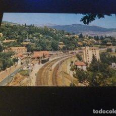 Postales: CERCEDILLA MADRID ESTACION DEL FERROCARRIL. Lote 155594454