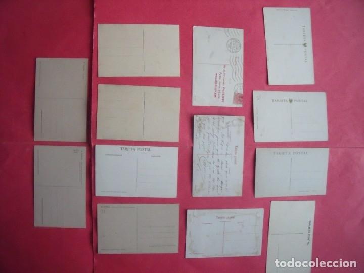 Postales: EL ESCORIAL.-MONASTERIO DEL ESCORIAL.-LOTE DE 13 POSTALES ANTIGUAS. - Foto 2 - 155710638