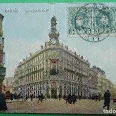 Postales: MADRID - LA EQUITATIVA. Lote 155711218