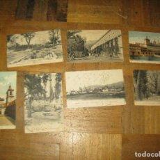 Postales: LOTE POSTALES EL ESCORIAL ANTIGUAS AÑOS 1910-1920 ESCRITAS. Lote 156034218