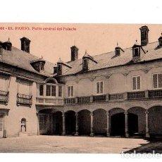 Postales: TARJETA POSTAL DE EL PARDO. PATIO CENTRAL DEL PALACIO.FOTOTIPIA THOMAS.. Lote 156041586