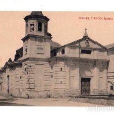 Postales: TARJETA POSTAL DE EL PARDO. IGLESIA.. Lote 156042182