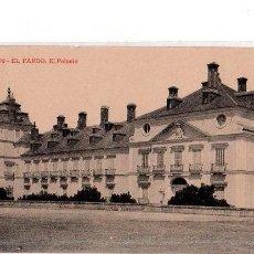 Postales: TARJETA POSTAL DE EL PARDO. EL PALACIO. FOTOTIPIA THOMAS.. Lote 156047610