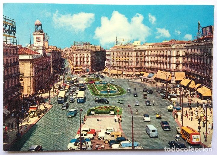 POSTAL MADRID - 45 PUERTA DEL SOL - GARCIA GARRABELL (Postales - España - Madrid Moderna (desde 1940))