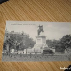 Postales: PLAZA DE ORIENTE B/N SIN CIRCULAR . Lote 156155970