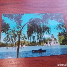Cartes Postales: MADRID ESTANQUE DEL RETIRO, ESCRITA BEASCOA. Lote 156243410