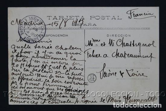 Postales: POSTAL MADRID ESTACION DEL MEDIODIA . 76 LACOSTE ca año 1905 - Foto 3 - 156539494