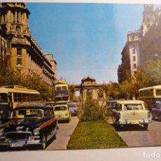Cartes Postales: POSTAL MADRID - PUERTA ALCALA - COCHES CIRCULADA. Lote 156808230