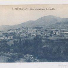 Postales: POSTAL. 7. CERCEDILLA. VISTA PANORÁMICA DEL PUEBLO. MADRID. Lote 157531706