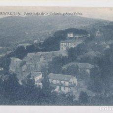 Postales: POSTAL. 24. CERCEDILLA. PARTE BAJA DE LA COLONIA Y SIETE PICOS. MADRID. Lote 157532786