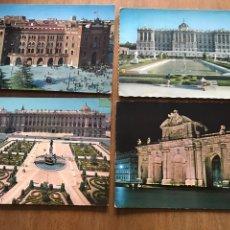Postales: LOTE DE 4 POSTALES ANTIGUAS DE MADRID. Lote 158675365