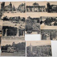 Postales: COLECCIÓN DE 14 POSTALES CON VISTAS DE MADRID. HAUSER Y MENET. PRINCIPIOS SIGLO XX. Lote 158834638
