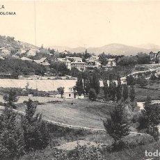 Postales: CERCEDILLA.- LA COLONIA. Lote 159053934