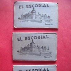 Postales: EL ESCORIAL.-MADRID.-DOROTEA BRAVO.-VITRINA DEL MONASTERIO.-POSTALES.-EDICIONES GARCIA GARRABELLA.. Lote 160463358
