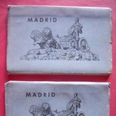 Postales: MADRID.-EDICIONES GARCIA GARRABELLA.-ZARAGOZA.-BLOC DE POSTALES.-POSTALES.. Lote 160463778